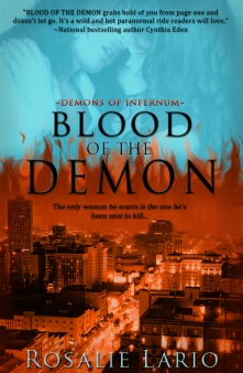 Blood of the Demon by Rosalie Lario: Demons of Infernum, Book 1