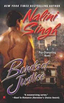 Bonds of Justice by Nalini Singh: Psy/Changeling Series, Book 8