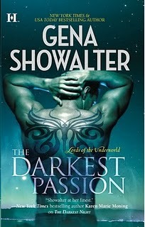 The Darkest Passion by Gena Showalter: Lords of the Underworld, Book 5