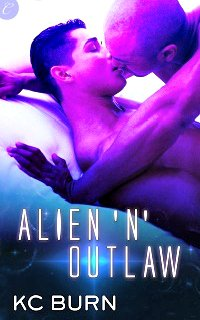 Alien 'n' Outlaw by K.C. Burn