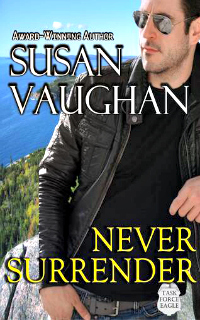 Never Surrender by Susan Vaughan